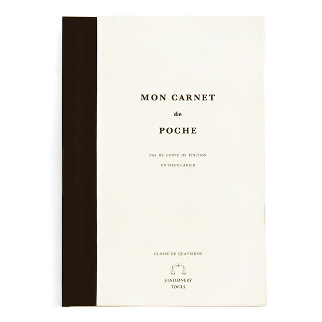 small black mon carnet de croquis poche notebook design menagerie. Black Bedroom Furniture Sets. Home Design Ideas