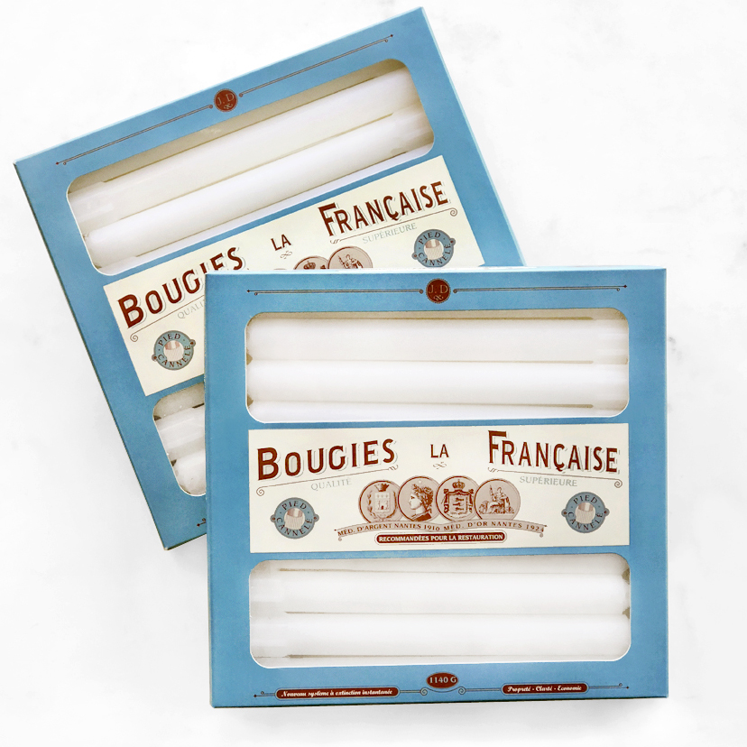 bougies la francaise candles box of 20 design menagerie. Black Bedroom Furniture Sets. Home Design Ideas